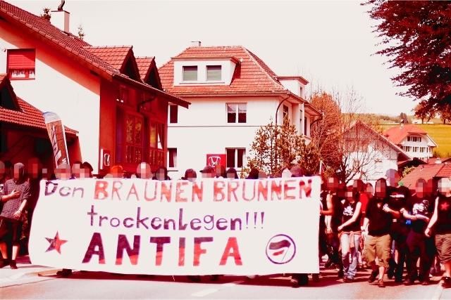 Antifaschistische Solidemo Bigeln