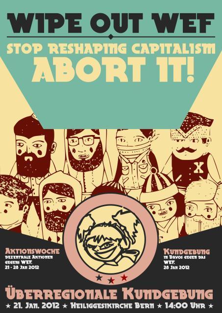 verhinderte Anti-WEF Demo