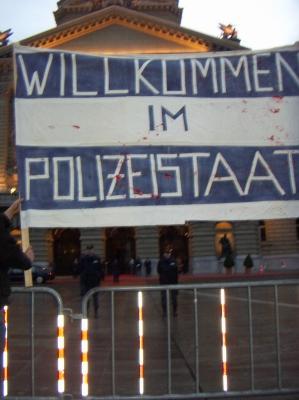 Protest gegen Demoverbot
