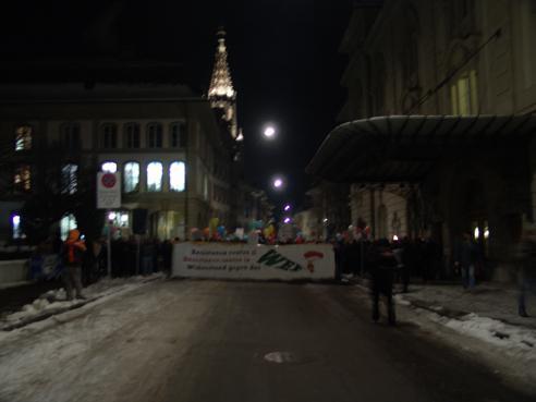 Anti-WEF Demo
