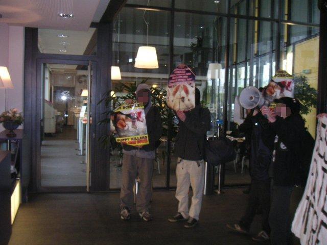 Demo gegen Novartis & GlaxoSmithKline (Münchenbuchsee)
