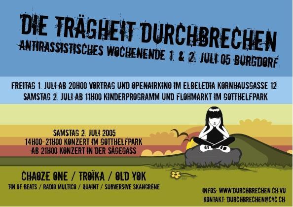 Antirassistisches Wochenende Burgdorf