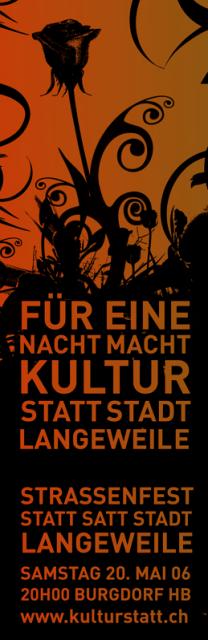 Strassenparty Burgdorf