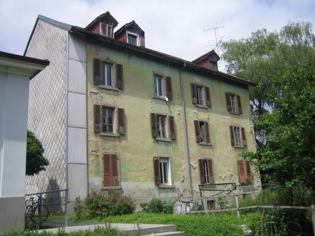 Hausbesetzung Wydenauweg Biel
