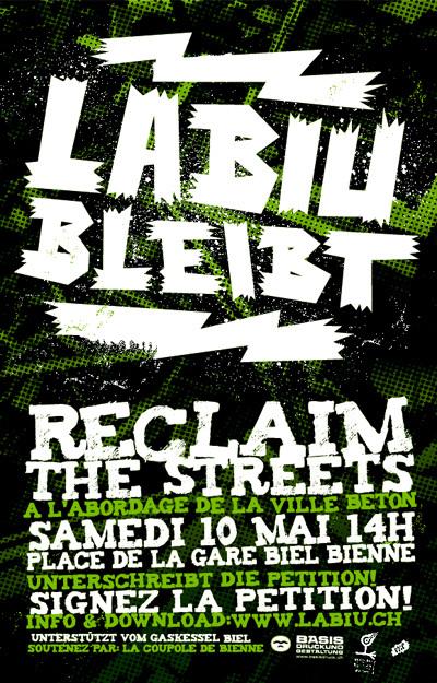 """Reclaim the Strets """"La Biu"""" Biel"""