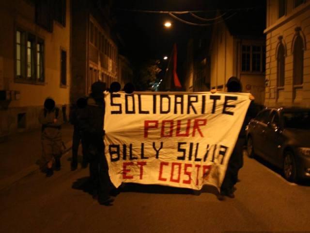Knastspaziergang Billy, Silvia & Costa Biel