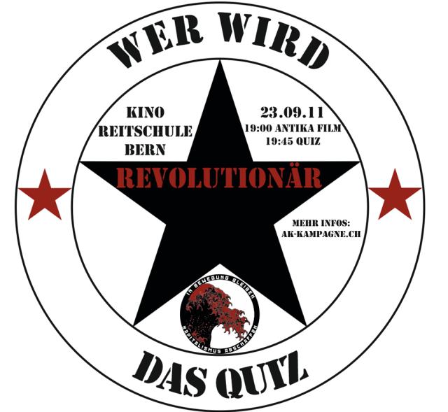 Quiz wer wird Revolutionär (AK-Kampagne)