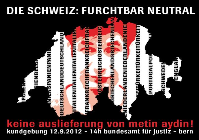 Demo Keine Auslieferung Metin Aydin