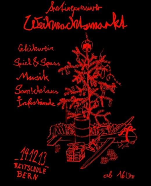 Antirepressiver Weihnachtsmarkt