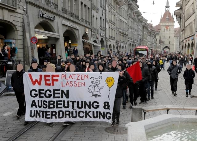 Anti-WEF-Rally