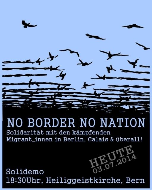Demo No Border No Nation