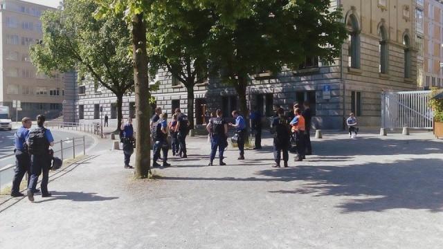 Blockadeaktion für Akpene Yawa Honkou