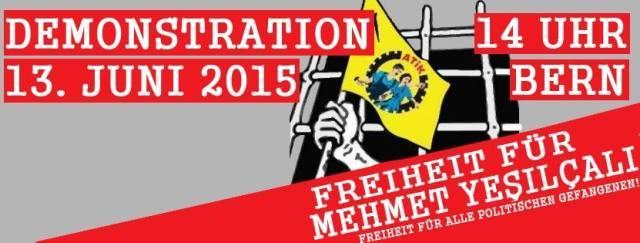 Demo Freiheit für Mehmet Yesilçalı 2