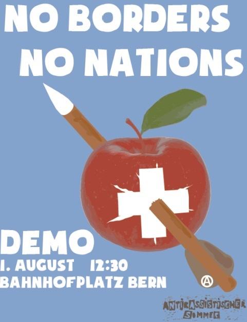 Demo No Borders, No Nations