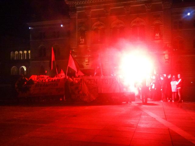 Antifaschistischer Vorabendspaziergang