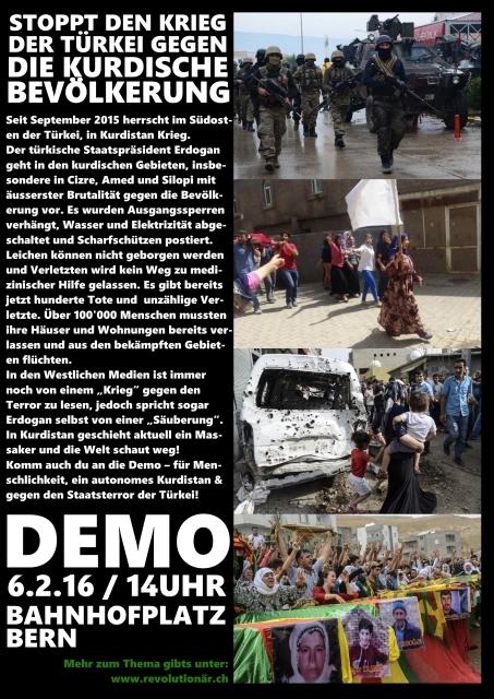 Stoppt das Massaker an der kurd. Bevölkerung