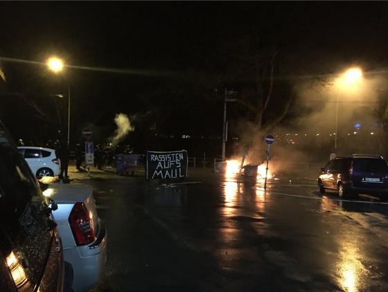 Angriff auf Polizei