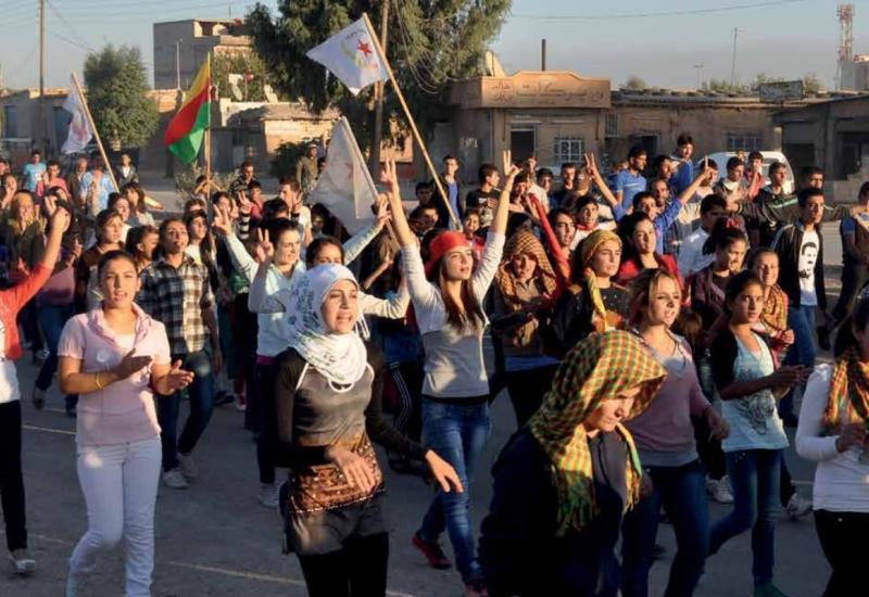 Spontandemo kurdische Jugend