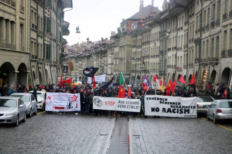Antirassistische Demonstration