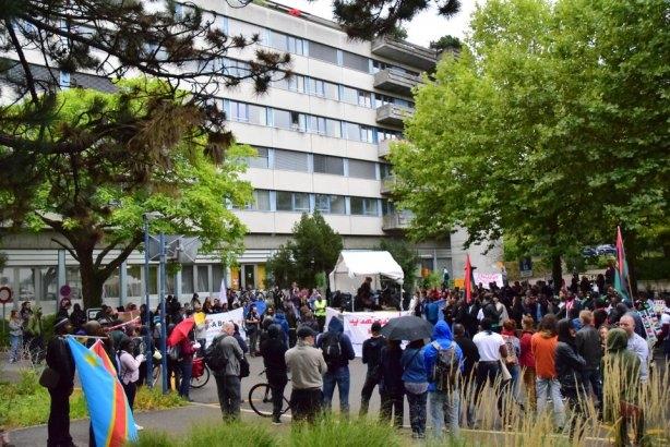 Demo Gemeinsam Fluchtursache Europa bekämpfen und Ausschaffungen abschaffen