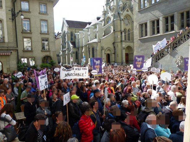Demo gegen Sozialabbau