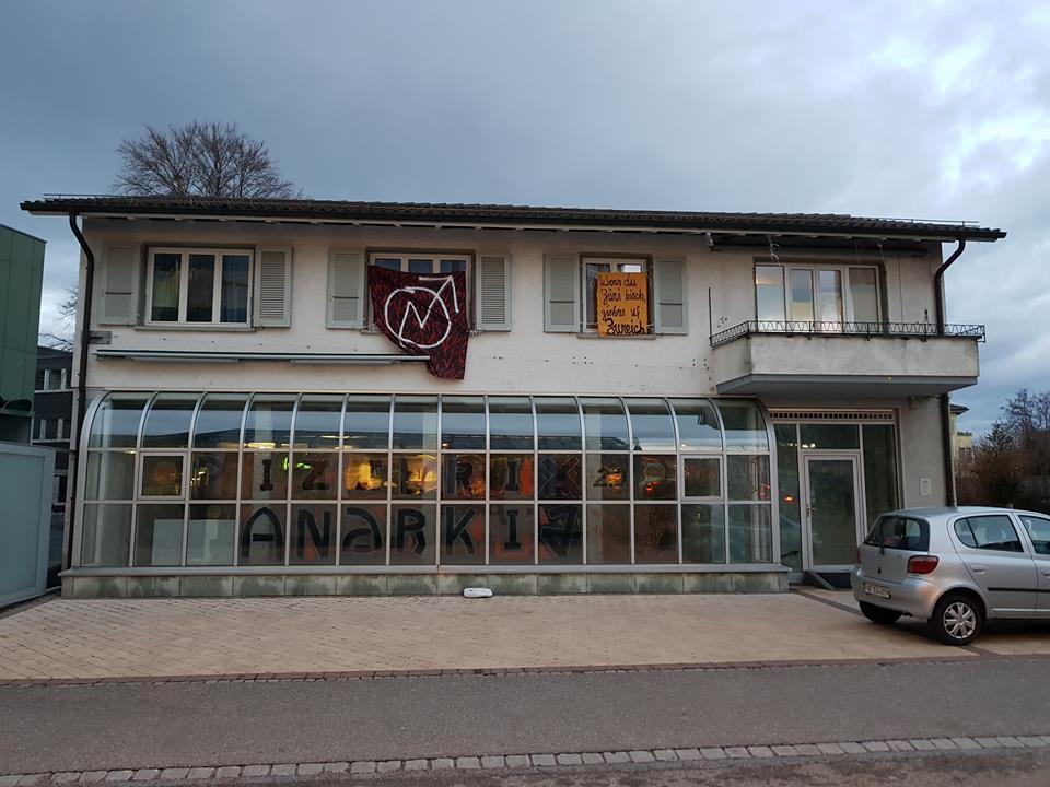 Hausbesetzung Könizstrasse