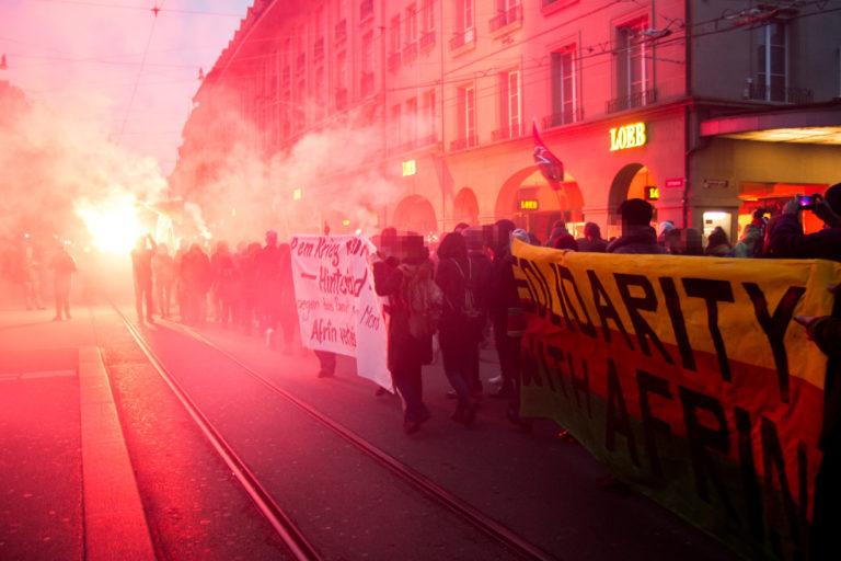 Spontandemo Newroz bedeutet Widerstand!