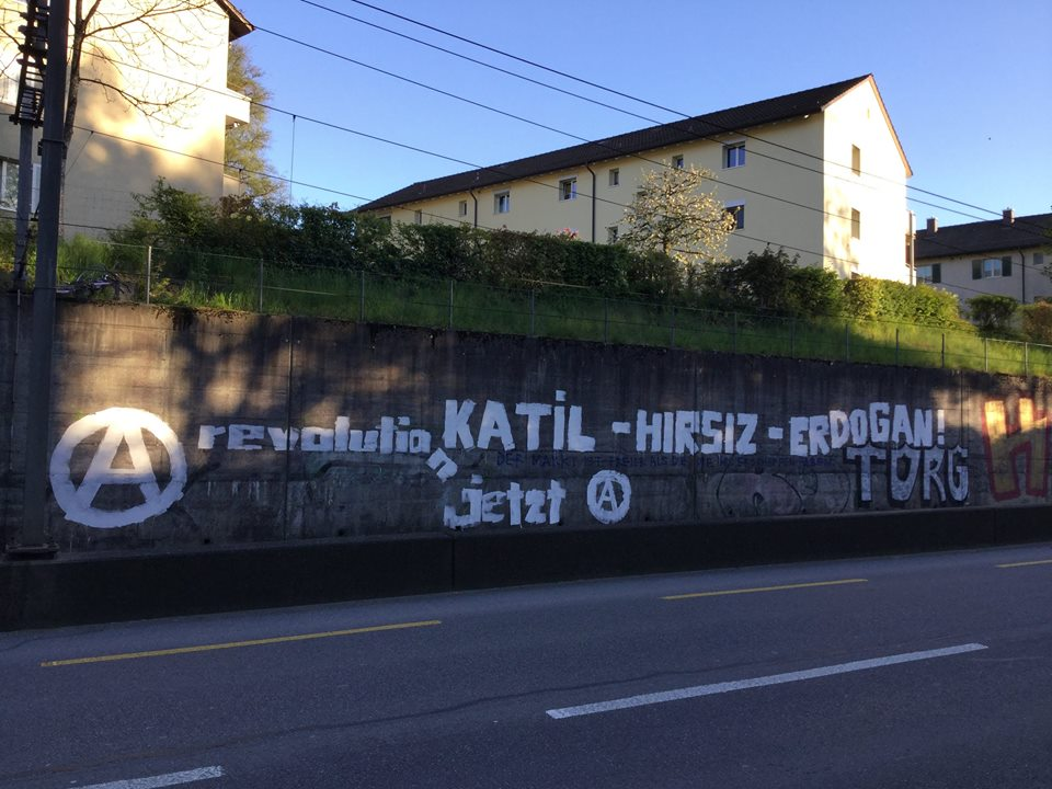 Malen gegen Nationalismus Zollikofen