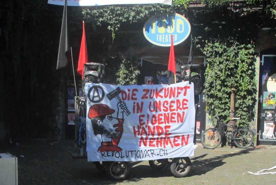 """Revolutionärer Block """"Rentenabbau stoppen – AHV stärken"""""""