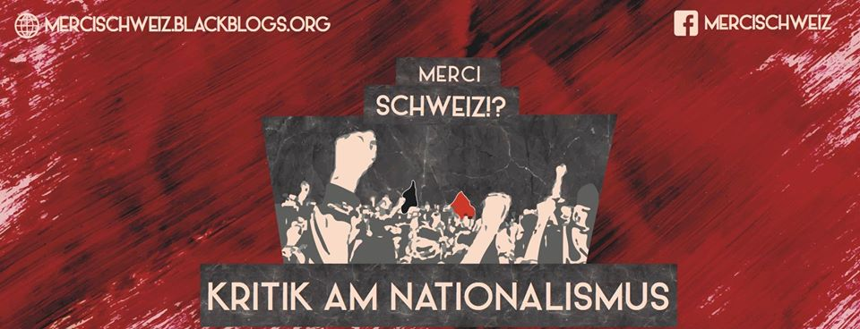 Demo Klassenkampf statt Vaterland Thun