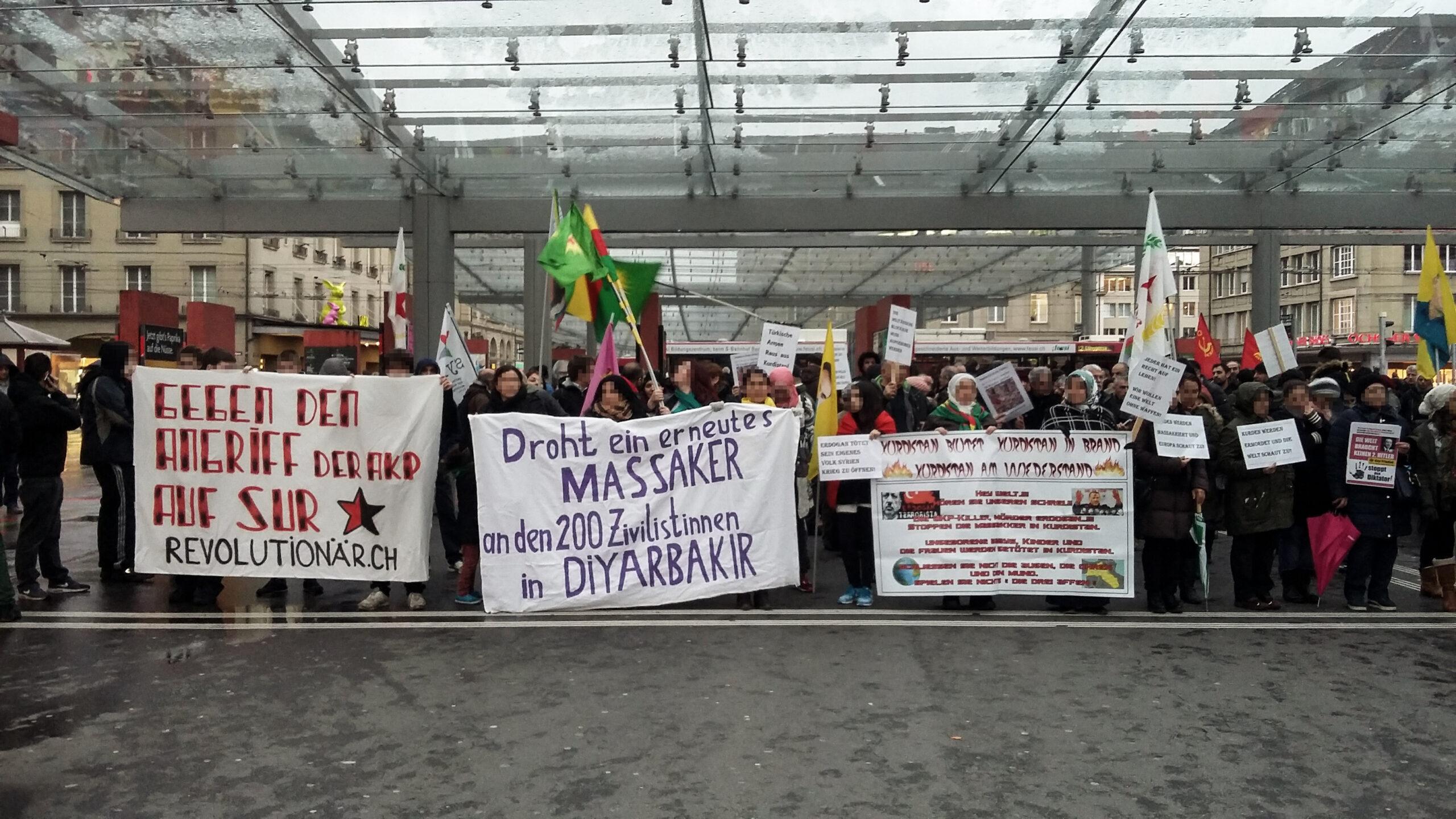 Solidarität mit dem Marsch nach Sur!