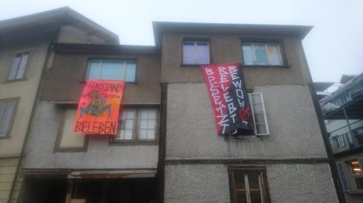 Hausbesetzung Hunyadigasse Burgdorf