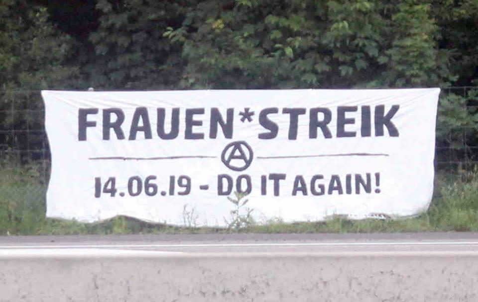 Transpiaktion Frauen*streik