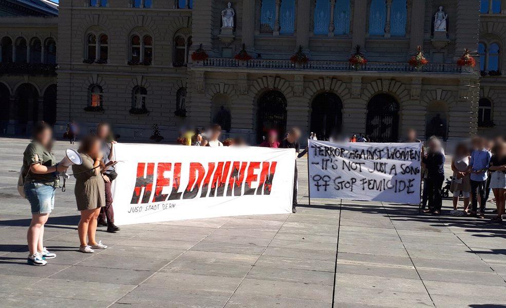 Spontandemo Gewalt an Frauen* in Genf
