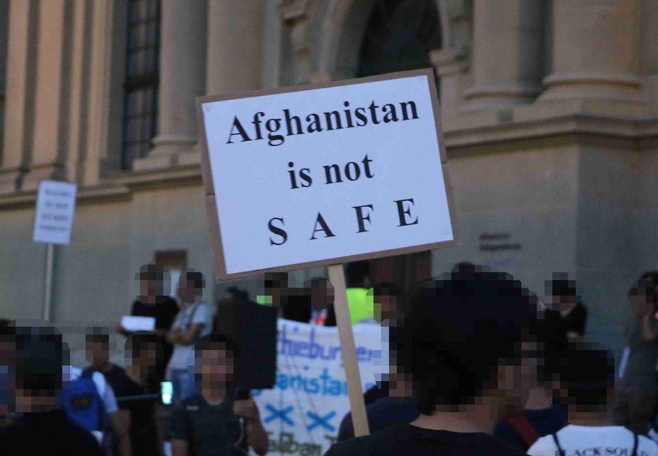 Gedenkkundgebung Opfer Afghanistan