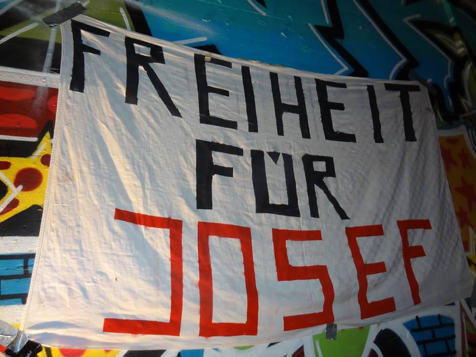 Transpiaktion Freiheit für Josef