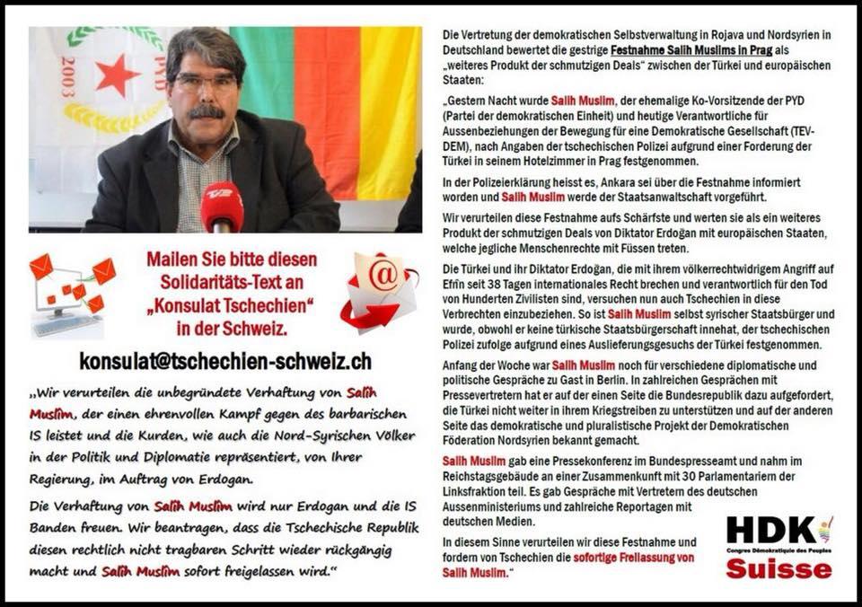 Demo Freiheit für Salih Muslim