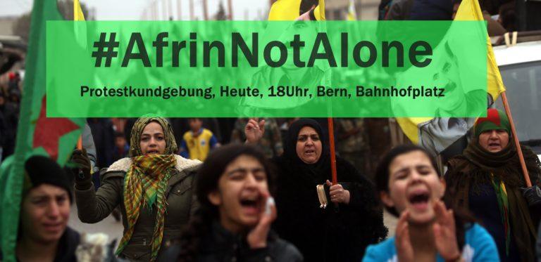 Protestkundgebung für Afrin