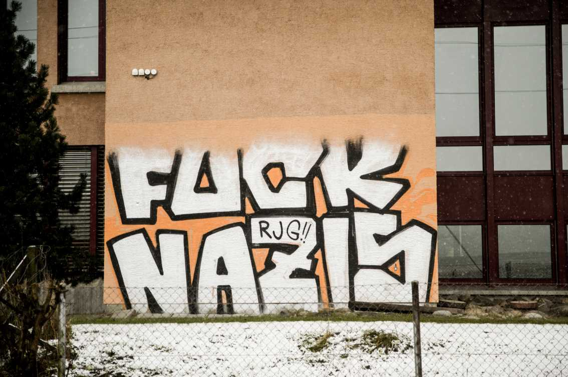 Antifaschistisches Graffiti Niederscherli