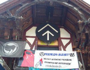 Transpiaktion Solidarität Friedel54 Berlin