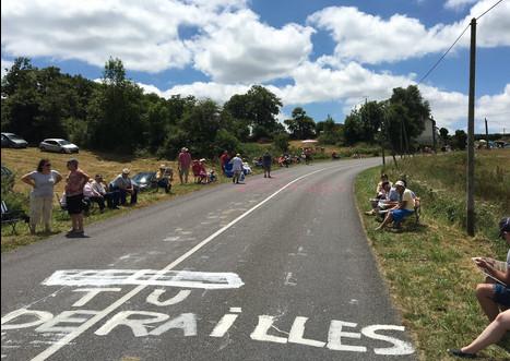 Bodenparolen Tour de France