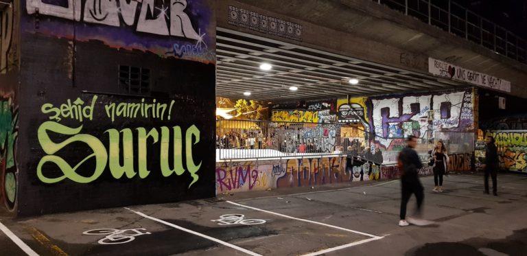 Transpiaktion & Graffiti Suruc
