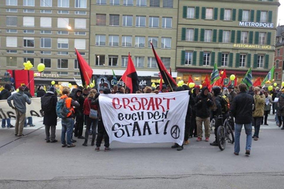 Demo gegen Sparpaket