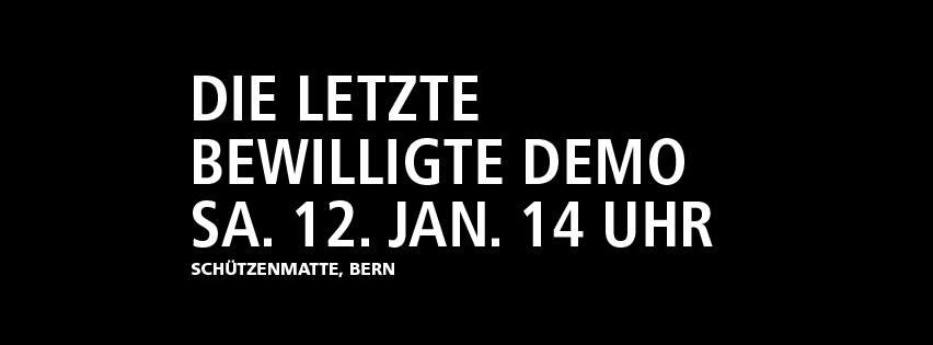 Demo Nein zum Polizeigesetz
