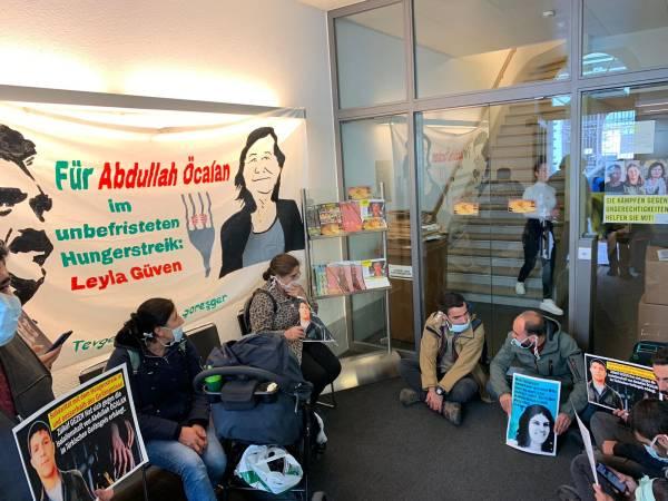 Besetzung Amnesty International