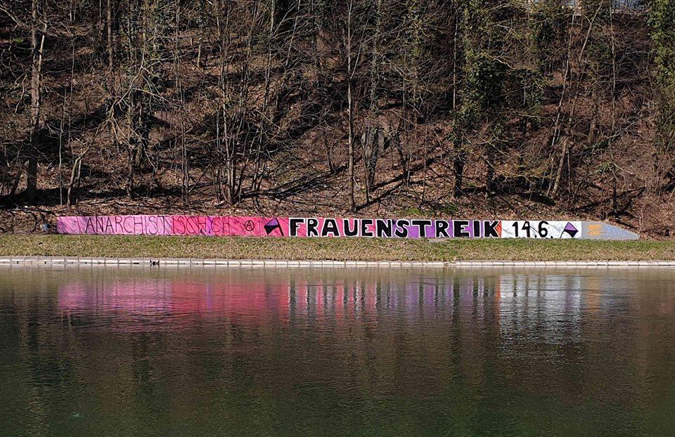 Graffiti Aare (Frauen*streik)