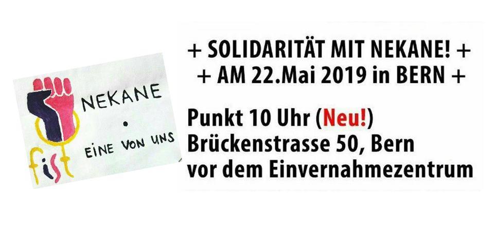Solidaritätsdemo Nekane