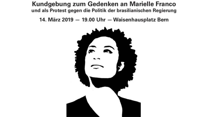 Demo Gedenken Marielle Franco