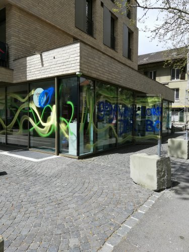 Farbaktion Neubau Serini-Areal