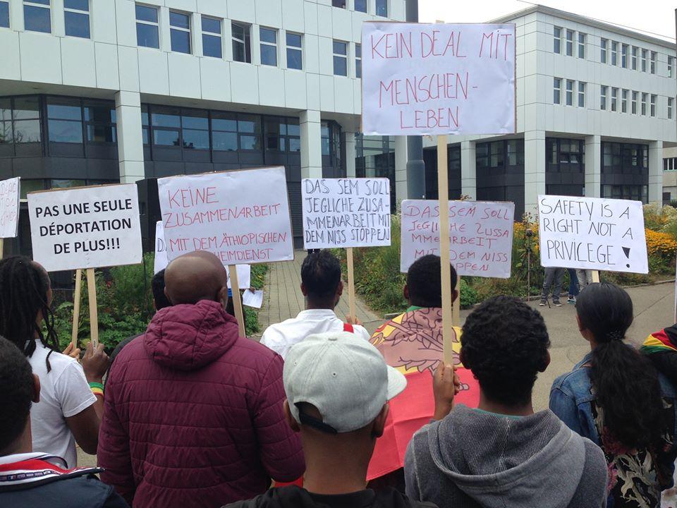 Demo No deportations to Ethiopia